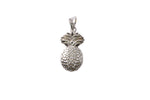 Silver Pendant With Pineapple