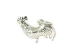 Silver Pendant With Rooster