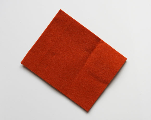 Brick - 3mm Wool Blend Felt - 8
