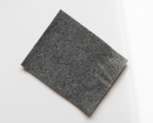 "City Gray - 3mm Wool Blend Felt - 8"" x 10"""