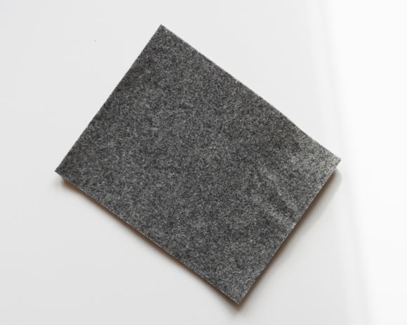 City Gray - 3mm Wool Blend Felt - 8
