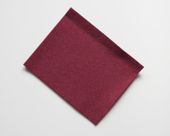 Red Lagoon - 3mm Wool Blend Felt - 8