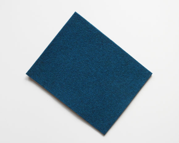 Teal - 3mm Wool Blend Felt - 8