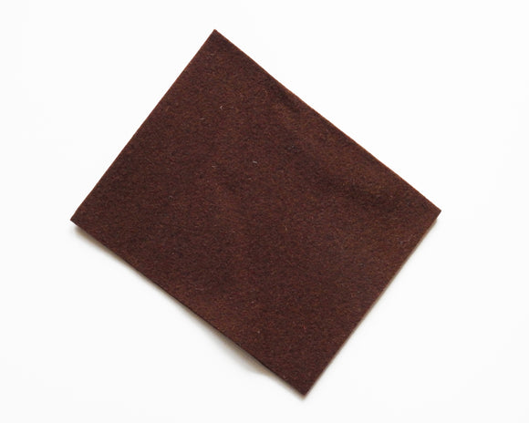 Tobacco - 3mm Wool Blend Felt - 8