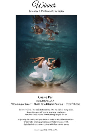 Spiritual Art Award 2019 Cassie Pali First Place