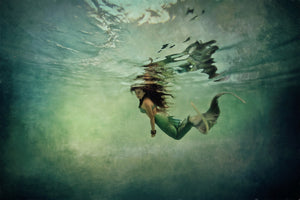fine Art Image Underwater Mermaid