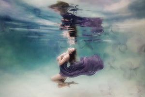 Fine Art Image of a Goddess Underwater