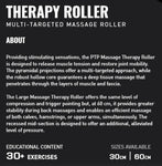 PTP Massage Therapy Roller