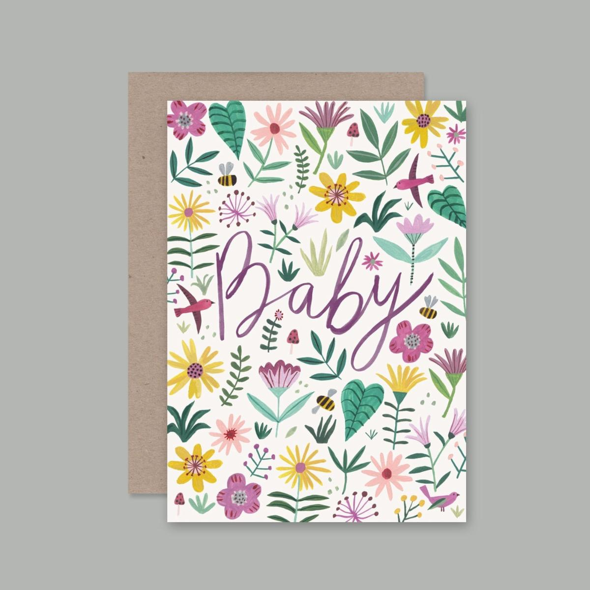 Baby Card | AHD Paper Co.