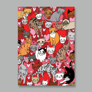I Love Cats Notebook | AHD Paper Co.