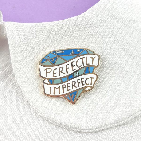 Perfectly Imperfect Lapel Pin | Jubly-Umph