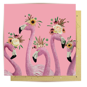 Flamingo Ladies Card | La La Land