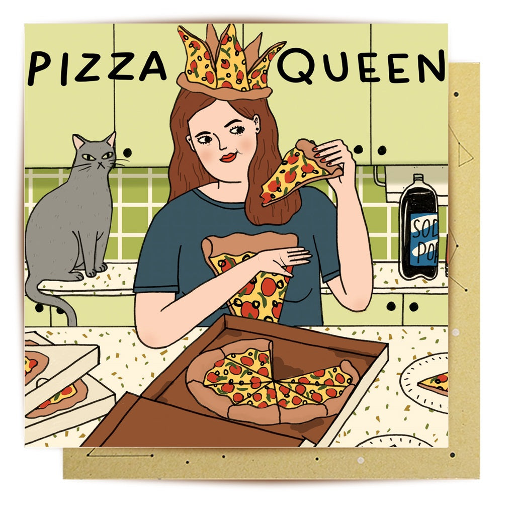 Pizza Queen Card | La La Land