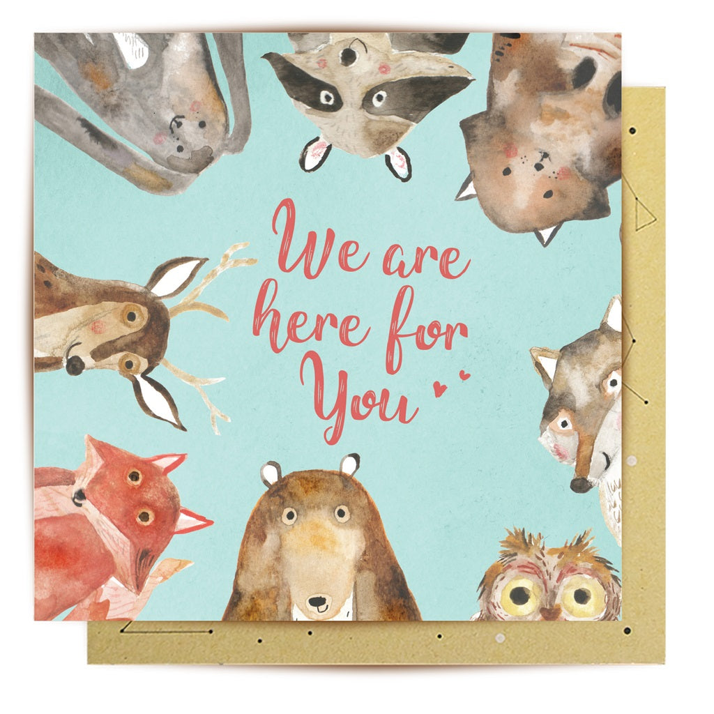 We're Here For You Card | La La Land