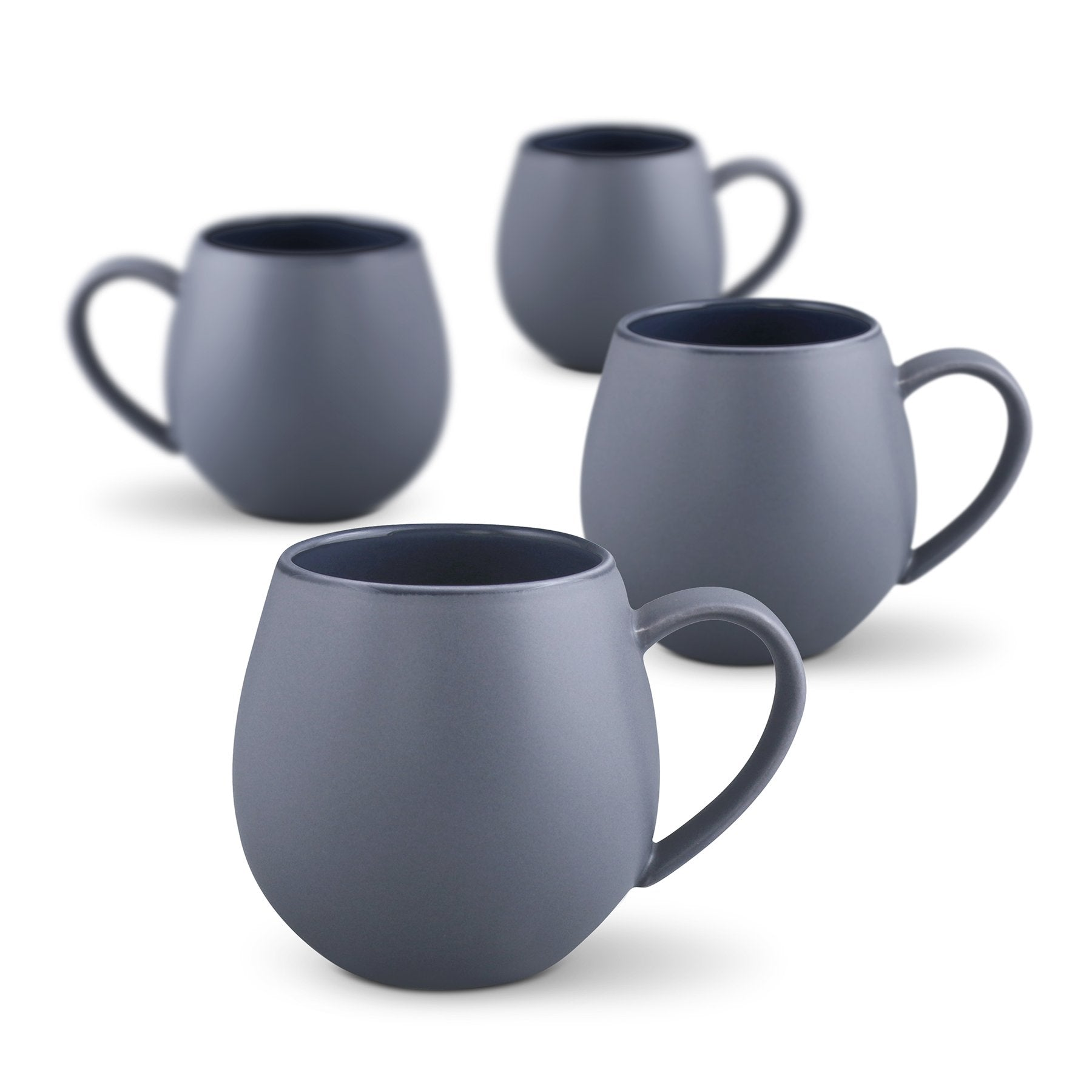 Hug Me Mug Set of 4 | Robert Gordon | Matt Grey