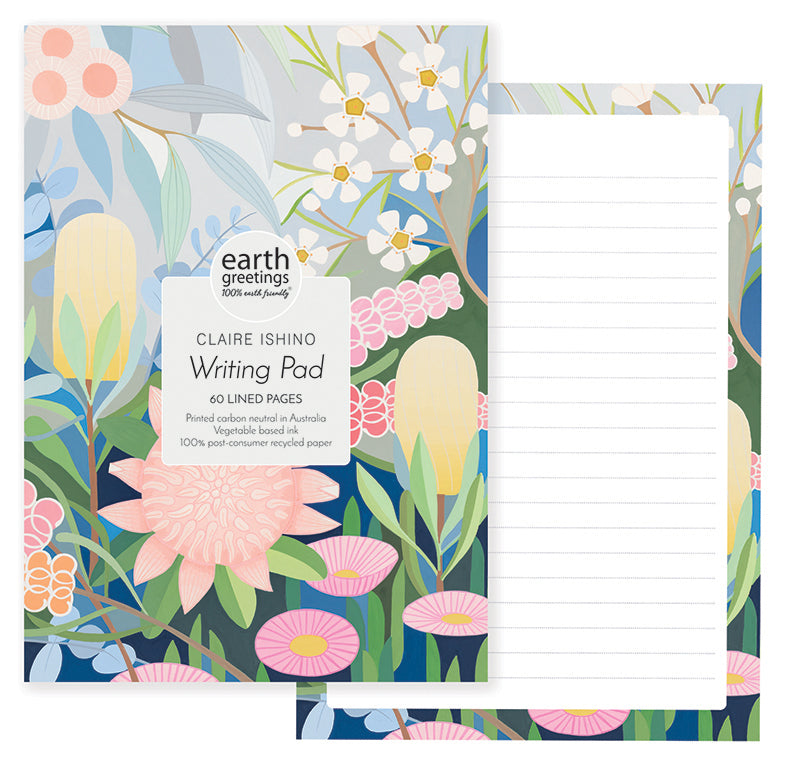 A5 Writing Pad | Earth Greetings | All Kinds of Wonder