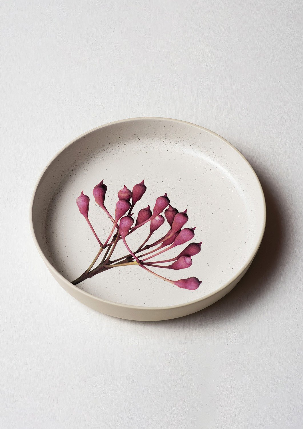 Pink Eucalyptus Server Bowl | Angus and Celeste