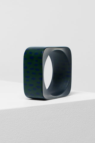 Halna Bangle | Elk The Label | Forest/Navy Spot