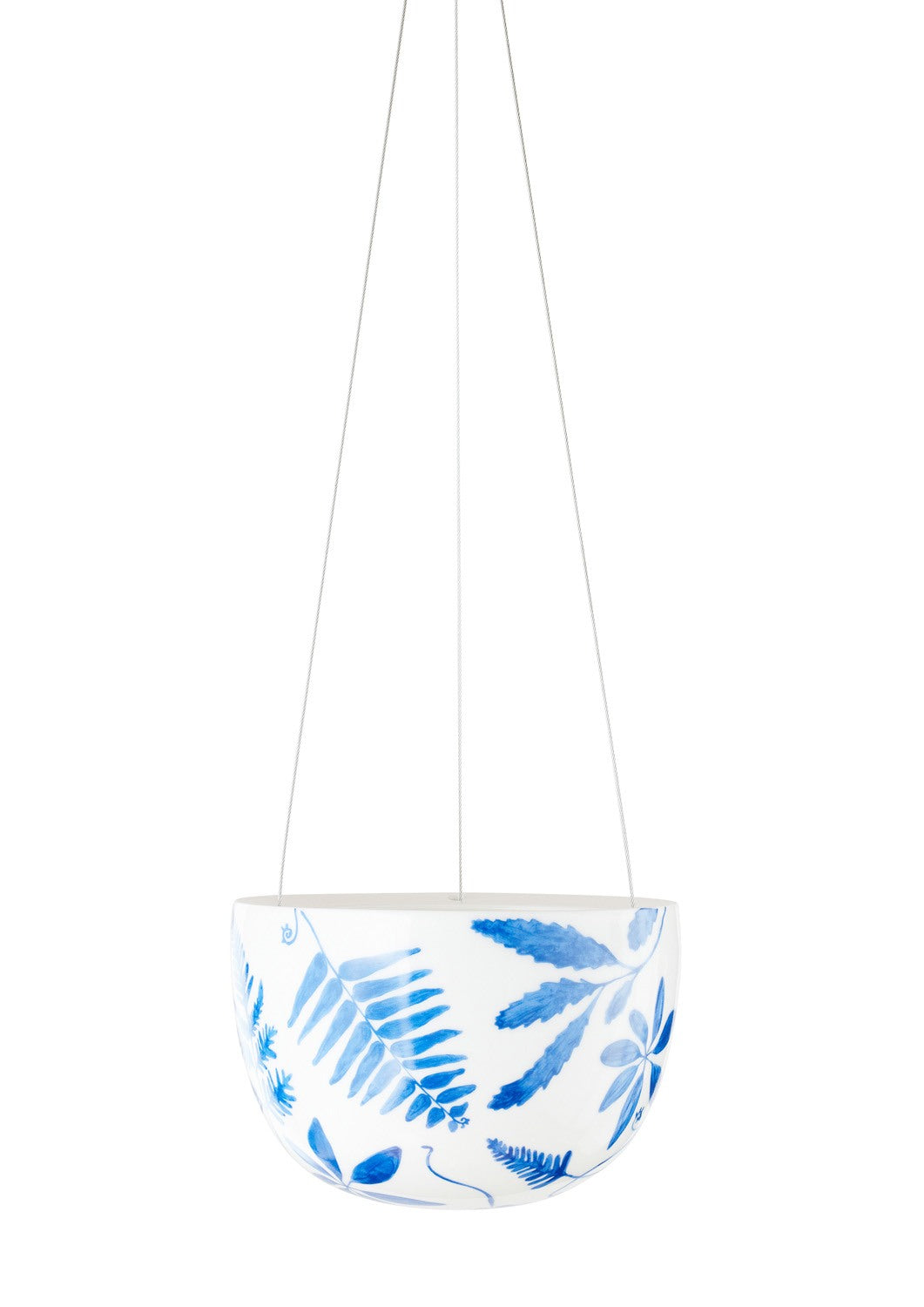 Blue Botanical Small Hanging | Angus & Celeste