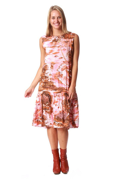 Gidget Dress | Honeysuckle Beach | Island Pink