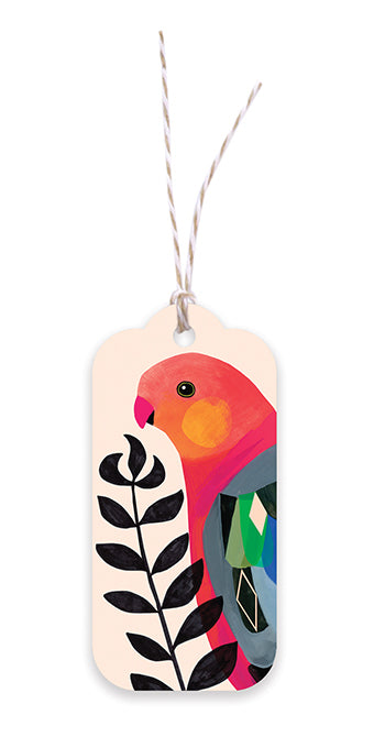 Gift Tag | Earth Greetings | King Parrot