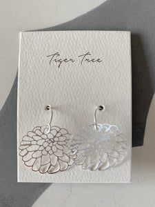 Silver Oriental Bliss Earring | Tiger Tree
