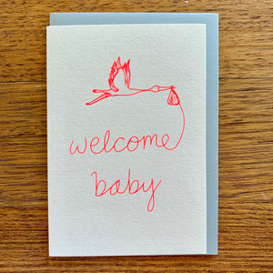 Welcome Baby Card | Me and Amber