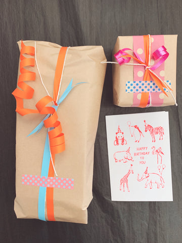 * Free Gift Wrapping