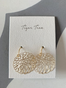 Gold Oriental Bliss Earring | Tiger Tree
