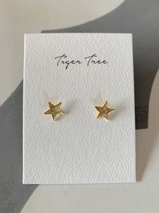 Gold Star Earring | Tiger Tree