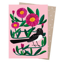 Greeting Card | Earth Greetings | Willie Wagtail