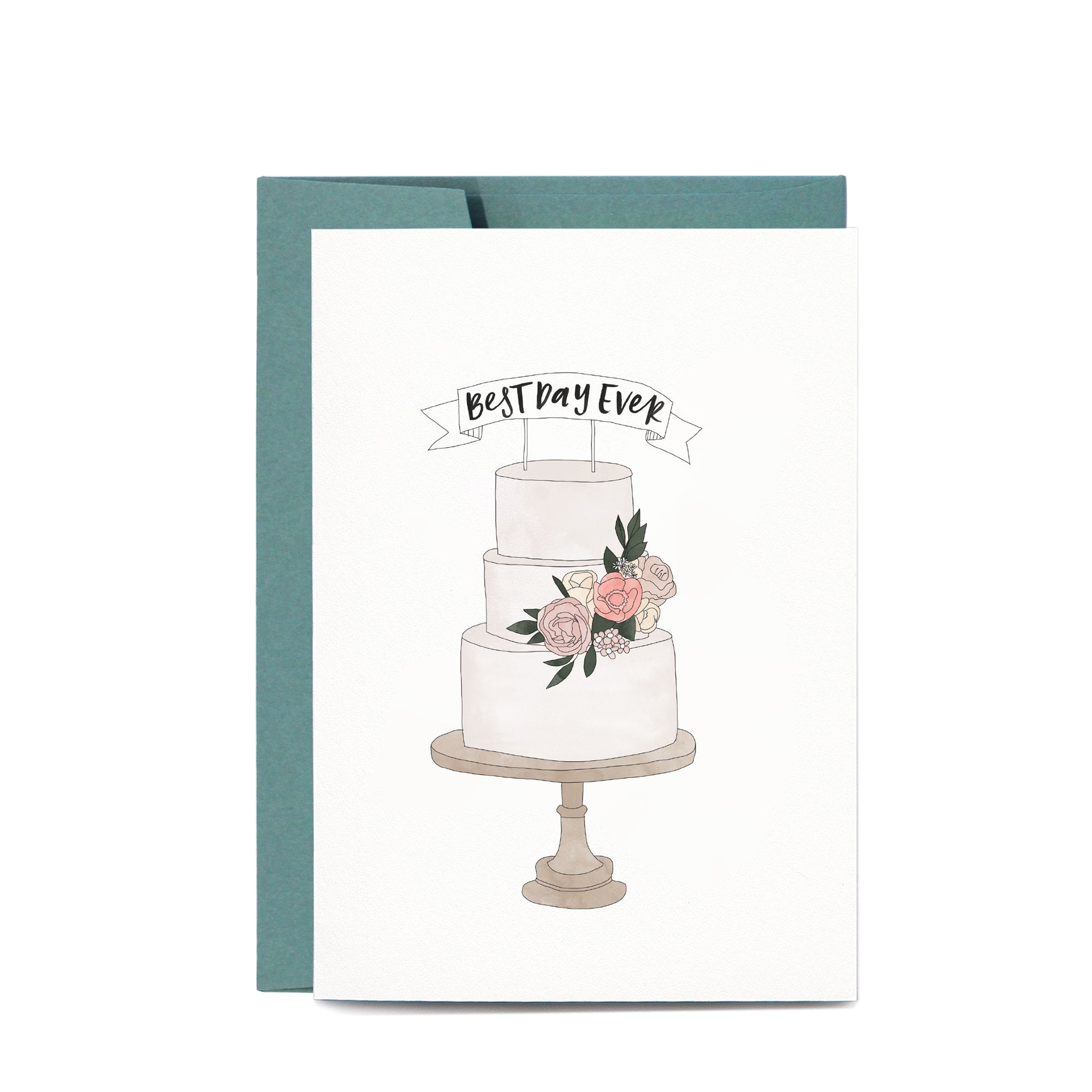 Best Day Ever Cake Card | In the Daylight