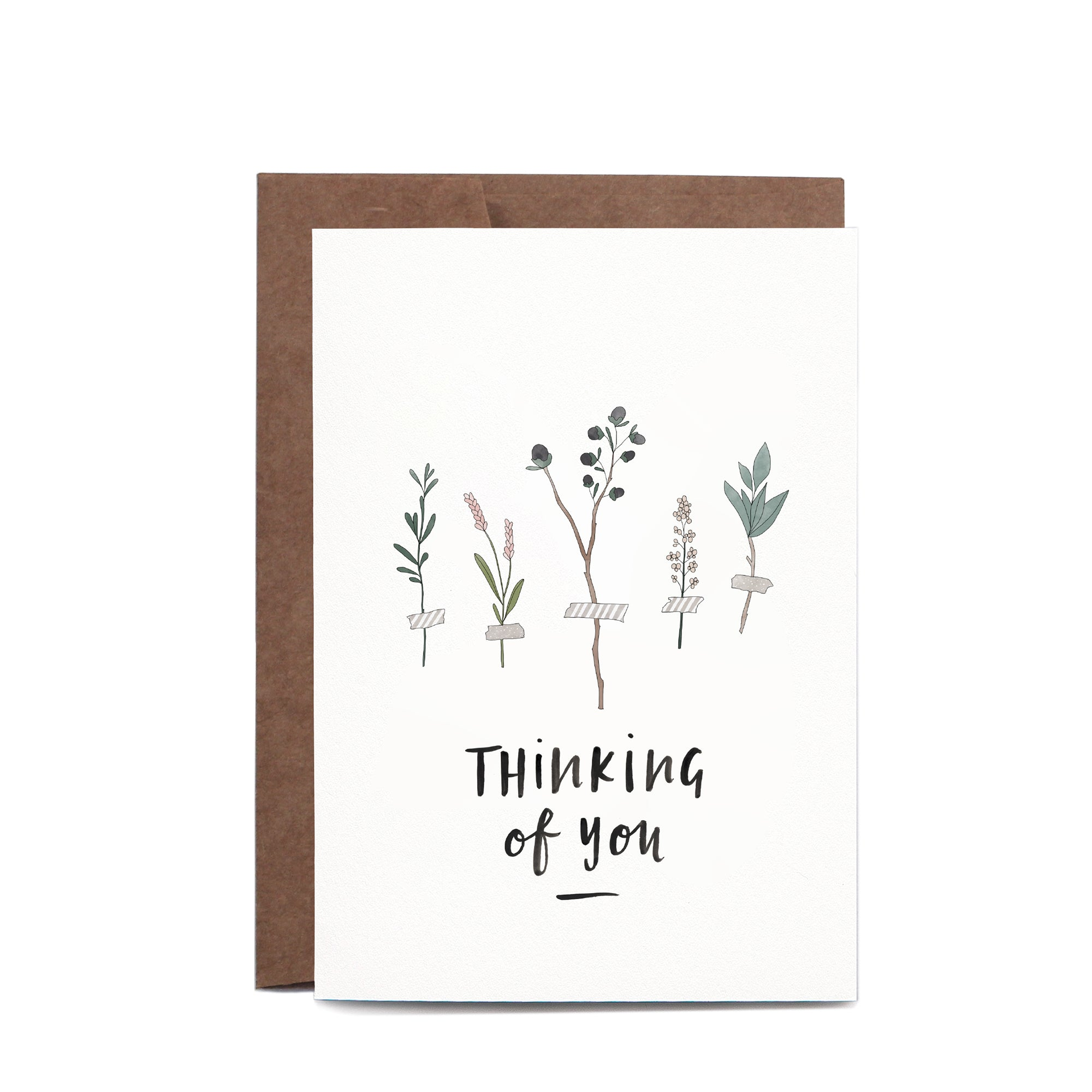Thinking of You Botanic Card | In the Daylight