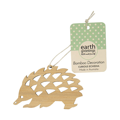 Bamboo Decoration | Earth Greetings | Curious Echidna