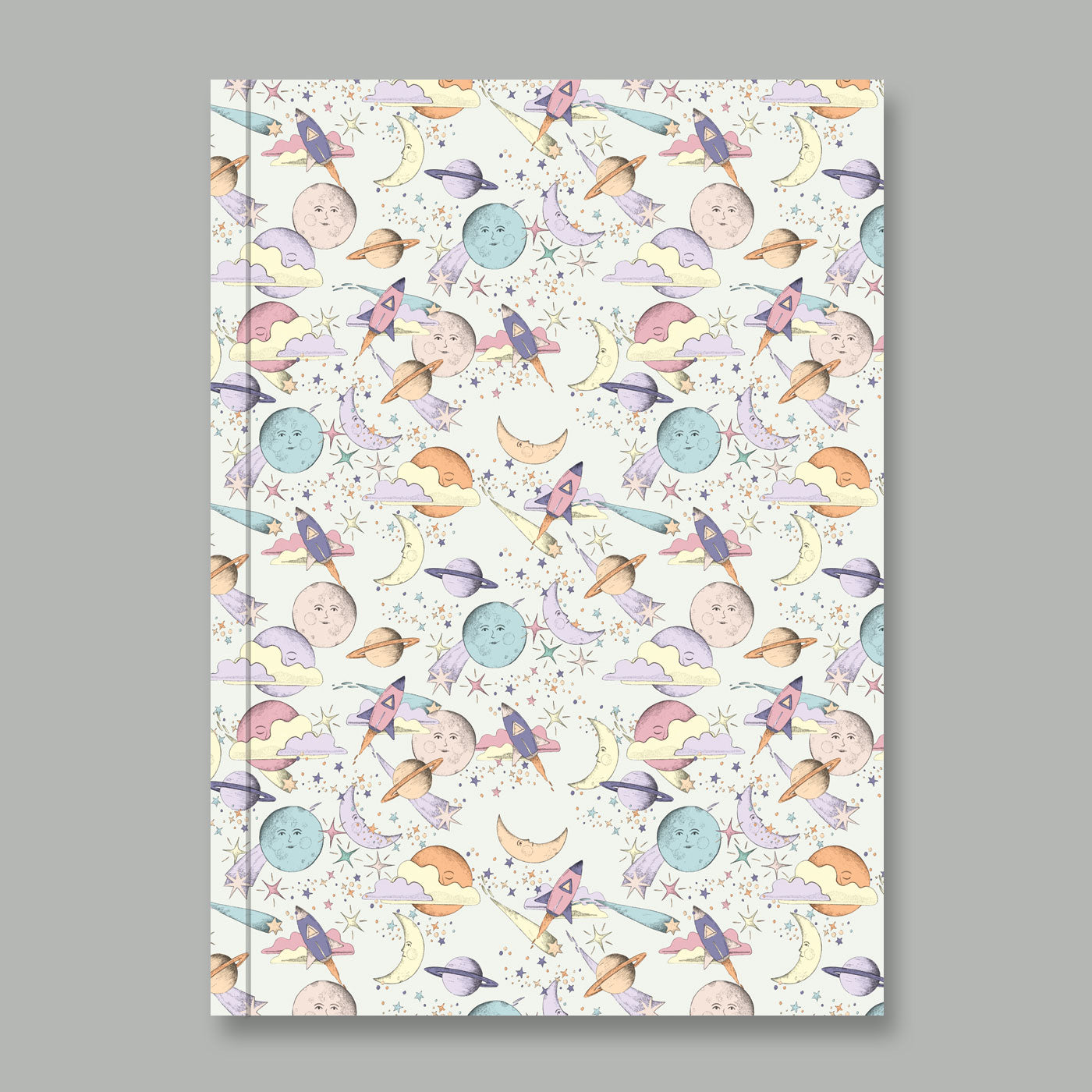 Moons and Planets Notebook | AHD Paper Co.
