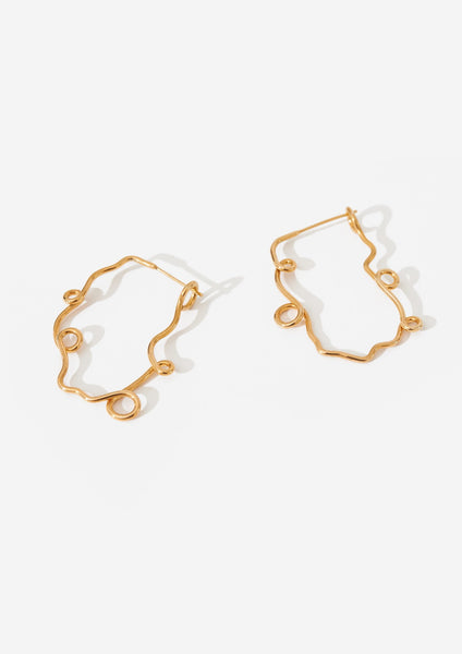 Two Hills No. 29 Earring