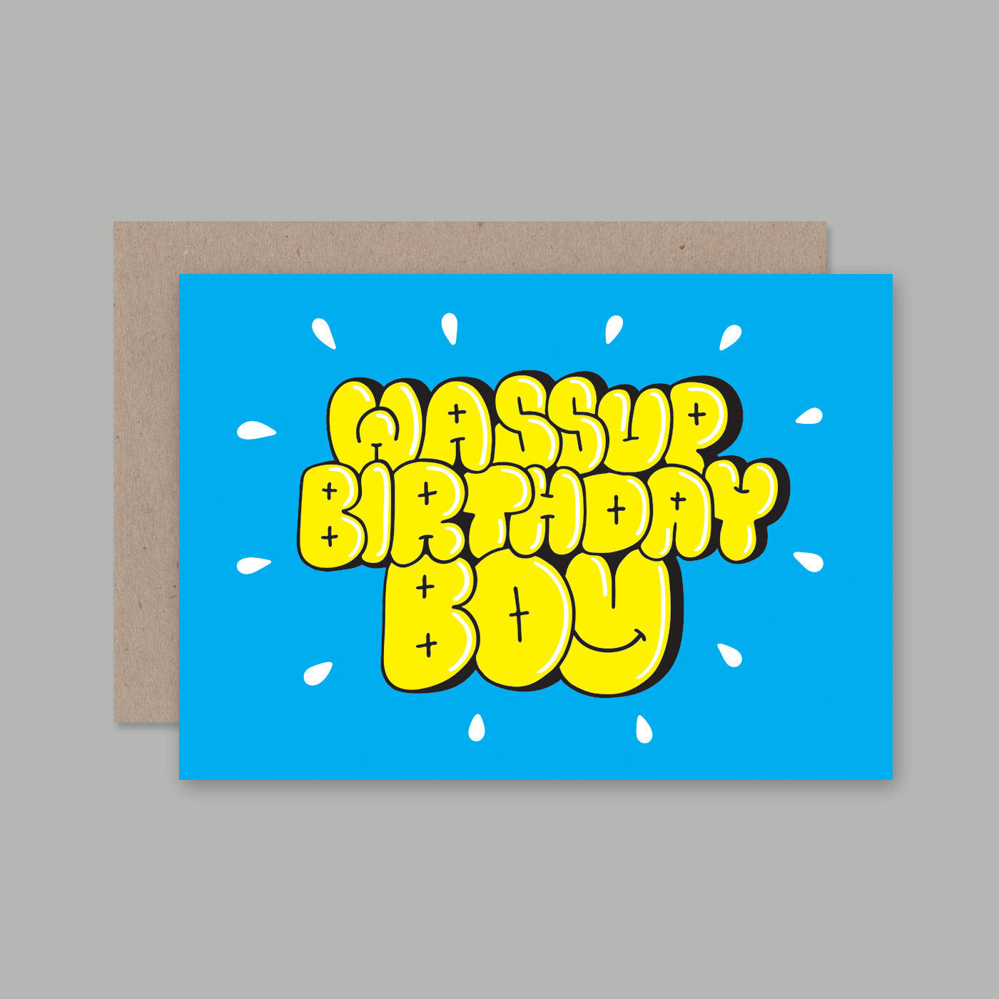 Wassup Card | AHD Paper Co.