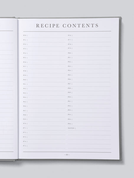 Recipes Passed Down Journal | Write to me