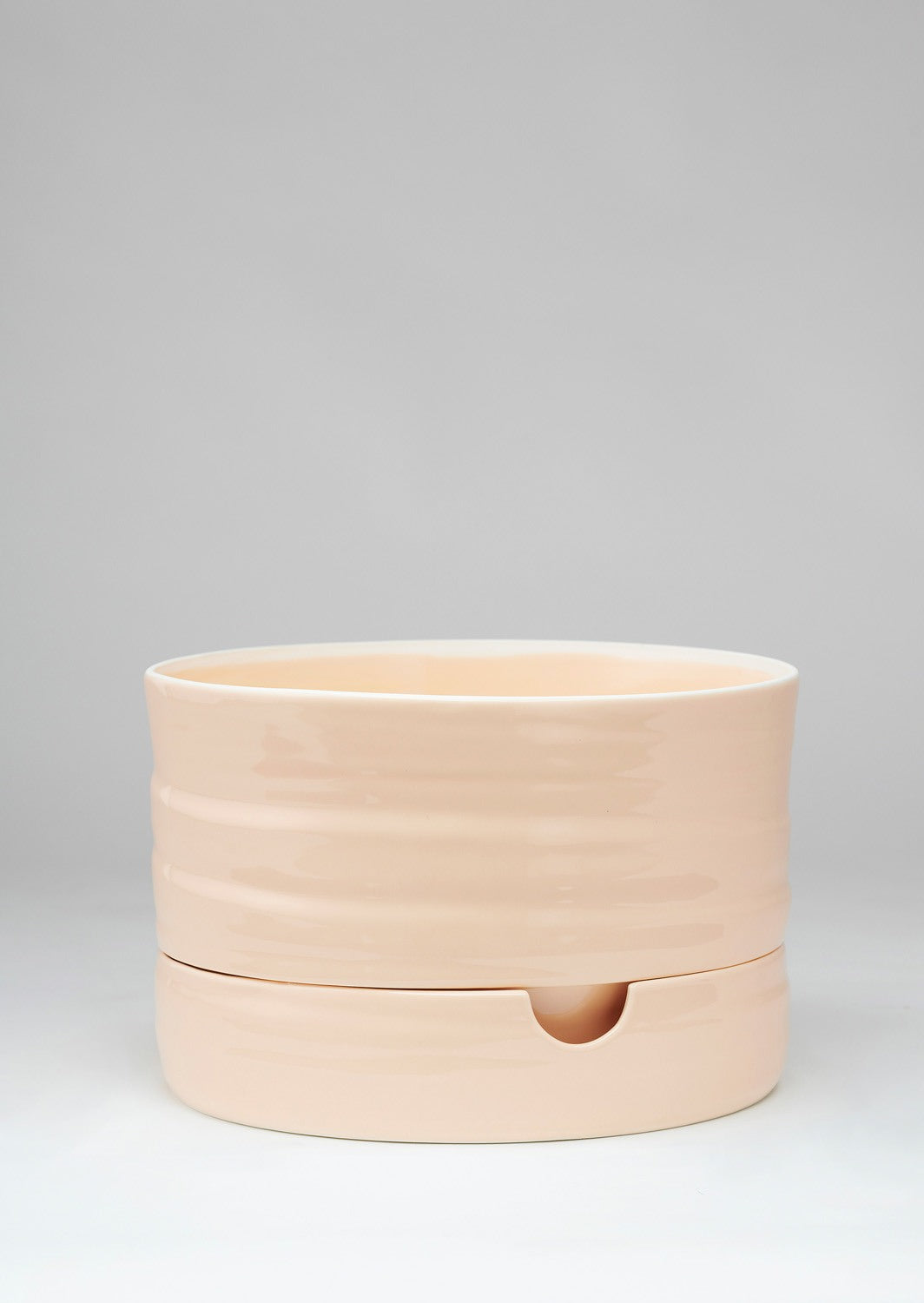Self Watering Plant Pot | Mid Burnt Coral | Angus and Celeste