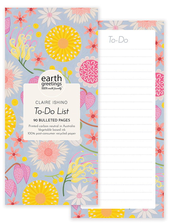 To-Do-List | Earth Greetings | Wildflower Moorland