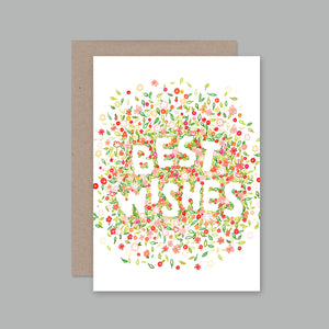 Best Wishes Card | AHD Paper Co.