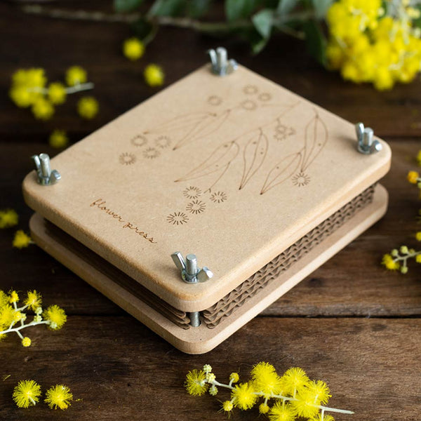 Flower Press 'Wattle'  Mini | Sow n Sow