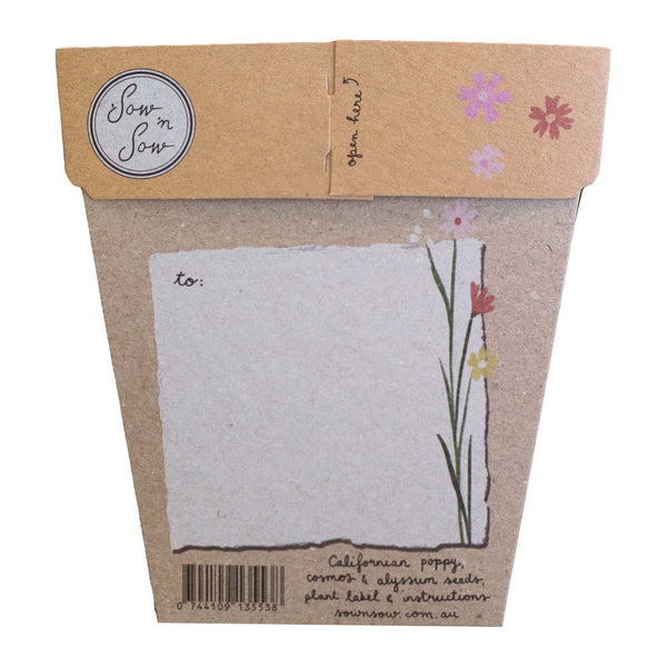 Wildflowers Gift of Seeds | Sow n Sow
