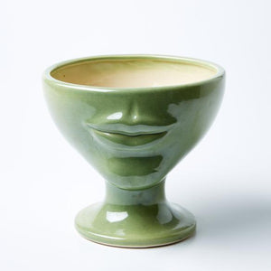 Simone Vase | Jones and Co | Tissian Green