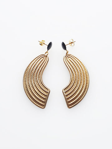 Ludwig Earring | Black | Middlechild