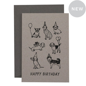 Party Dogs Card | Me and Amber