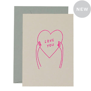 Poster Love You Card | Me and Amber