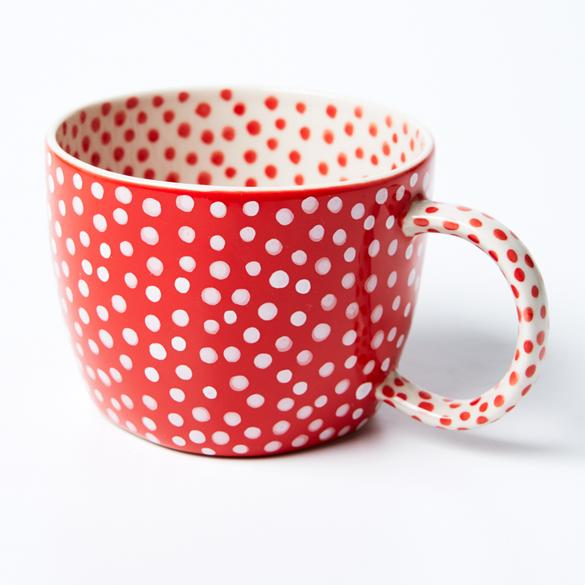 Chino Mug | Red Spot | Jones and Co