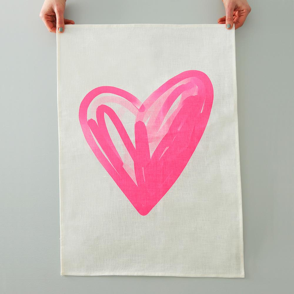 Heart Tea Towel | Me and Amber