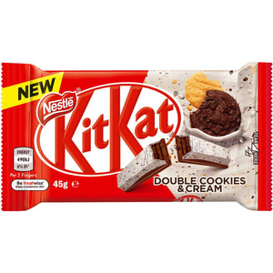 KitKat Double Cookies & Cream 45g